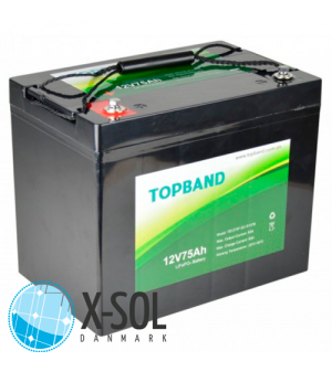 75Ah Lithium batteri Topband LiFePO4