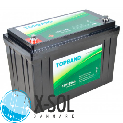 125Ah Lithium batteri Topband LiFePO4