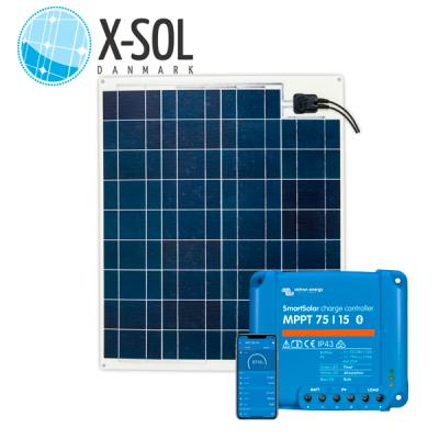 75watt Flex Ultra solcelle med MPPT