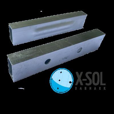 Indvendige samlestykket til aluminiumsprofil