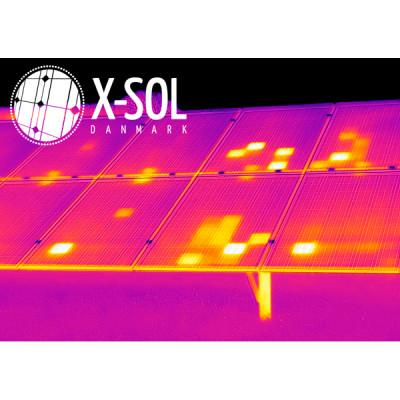 Solcelleanlæg thermografisk undersøgelse