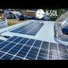Installation af solpanel campingvogn Kabe