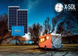 Solceller til camping 1200 wh (300WP) standard solcelle