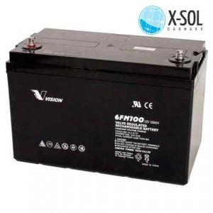 100Ah AGM Batteri