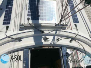 Flex solcelle efter mål X-Sol Danmark