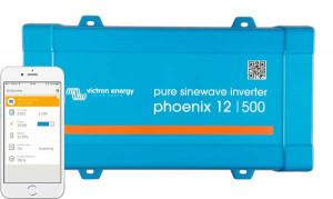 500W 12V Inverter / omformer ren sinus 230 Volt