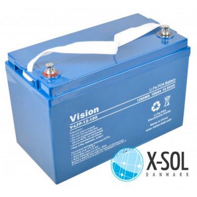 100Ah Lithium batteri