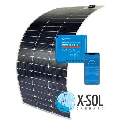 90watt Flex Ultra solcelle med MPPT