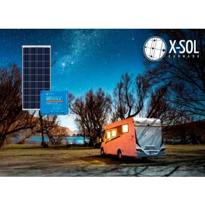 Solceller til camping 600 wh (150WP) standard solcelle