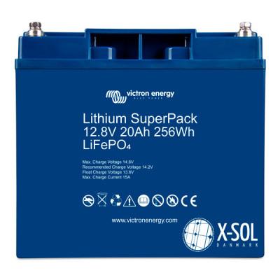 20Ah Lithium SuperPack 12.8V(front)