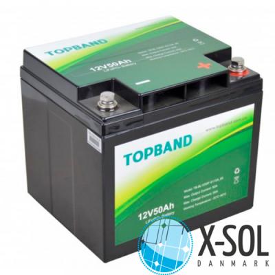 50Ah Lithium batteri Topband LiFePO4
