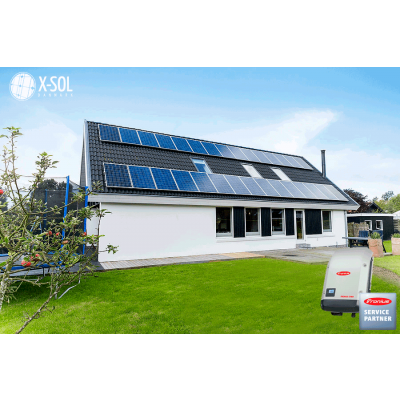 6 Kwp solcelleanlæg Fronius Inverter
