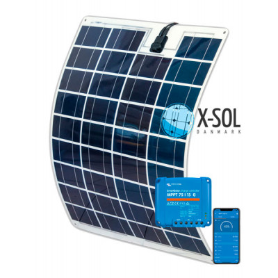 75watt Fleksibel Solceller - 30% mere strøm