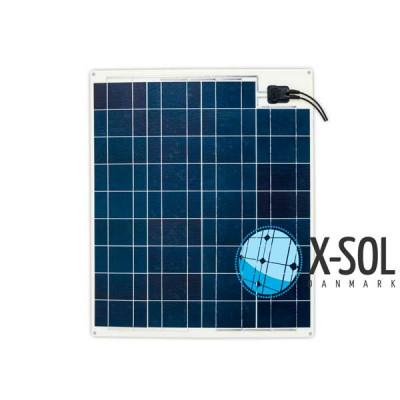 75watt Flex Ultra fleksibel solcelle til båd