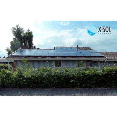 9 kwp solcelle med all black panel