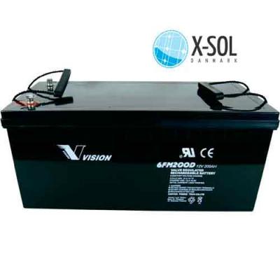 200Ah AGM Batteri