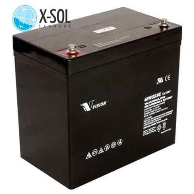 55Ah AGM Batteri