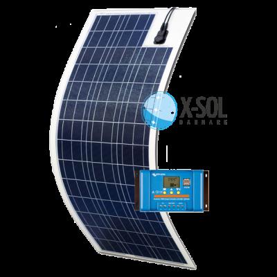 Flex Light 90watt solcelle sæt med regulator