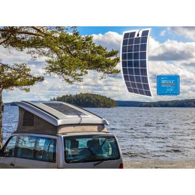 Solceller til campingvogn 600 wh (150WP) Fleksibel solcelle