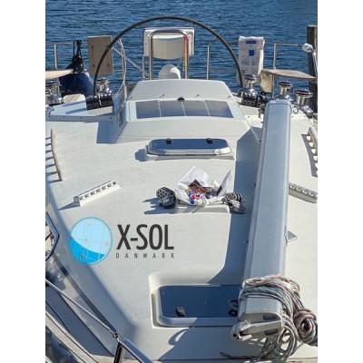 Montering solcelle båd