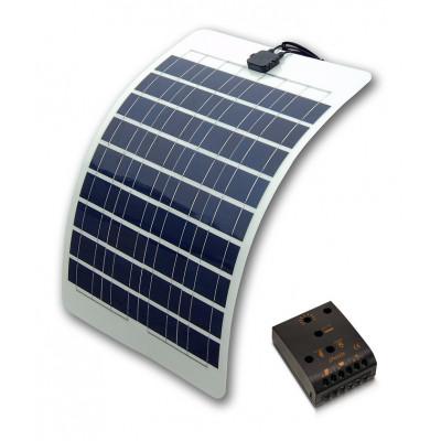Flex solceller til både 36watt sæt