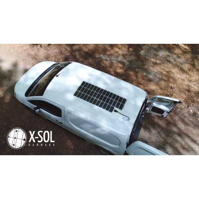 Solcelle til varevogn