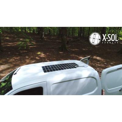 Solcelle til varevogn giver strøm 24-7