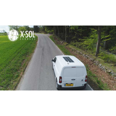 Solcelle på vognen giver frihed og skåner miljøet