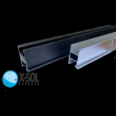 Sølv monteringsskinner til solceller