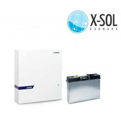 Varta Pulse 6 batteri til eksisterende solcelleanlæg