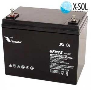 Batteri til solceller