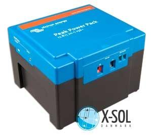 Lithium LiFePO4 batteri til solceller