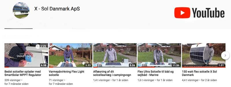 Video fra X-Sol Danmark
