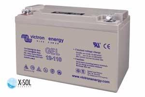 GEL batteri til solceller