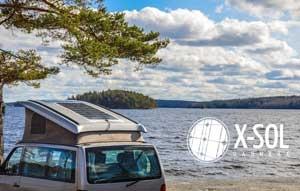 fleksibel solceller til campingvogn og autocamper