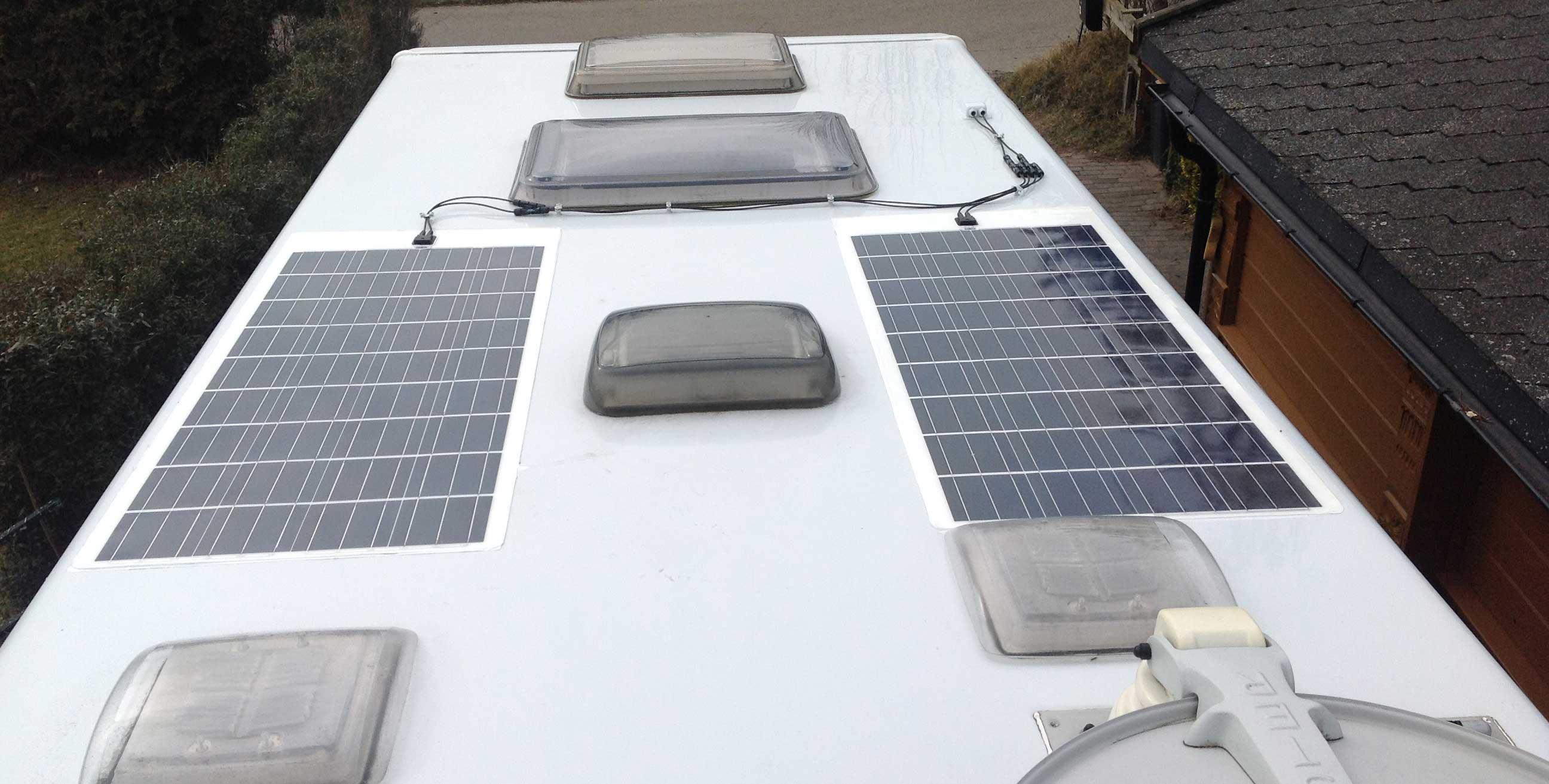 Udvidelse af Flex solcelle