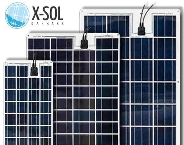 Flex fleksibel solceller