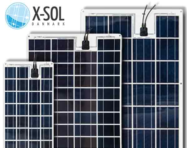 Flex solceller X-Sol Danmark