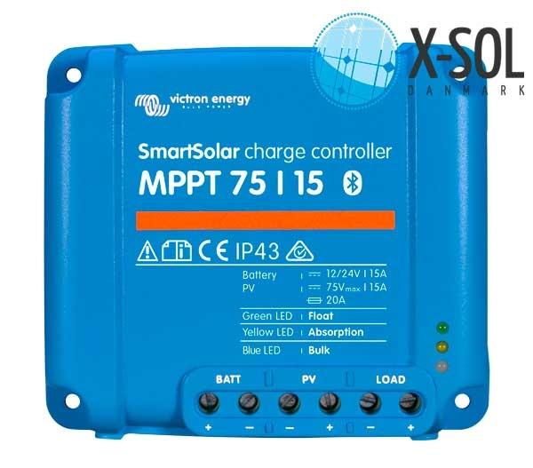 MPPT laderegulator til solceller
