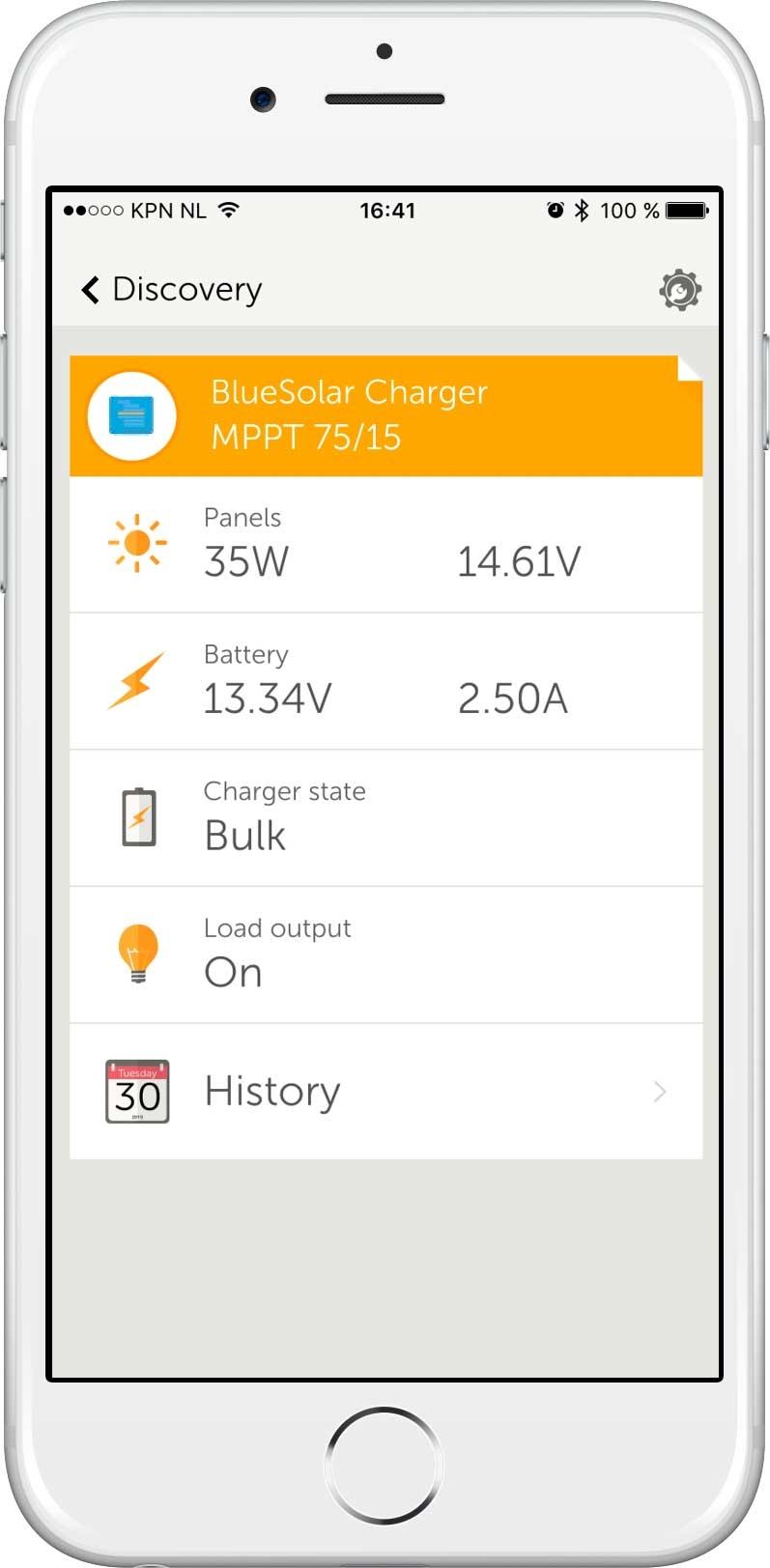 Trådløse data overvågning på smartphone