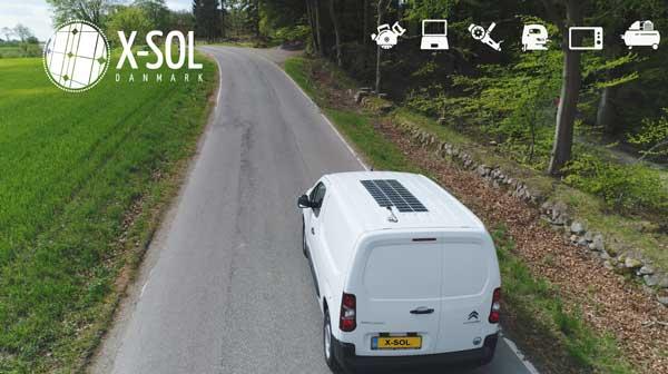 Solceller - lithium til servicevogn