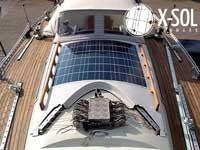 Solceller til sejlbåd