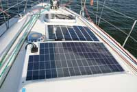 solpanel til båd X-Sol Danmark