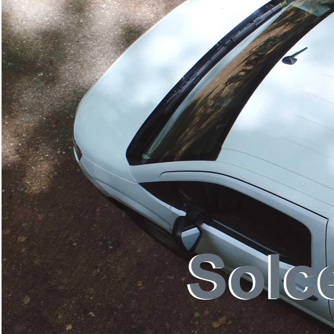 Solceller til service vogn