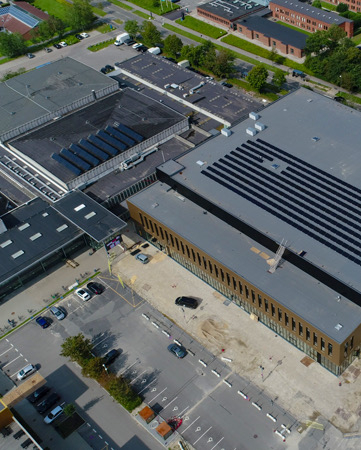 Solcelleanlæg til erhverv