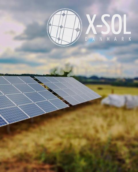 Solceller på stativ