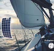 Sejlbåd med naturlig strøm FlexLight