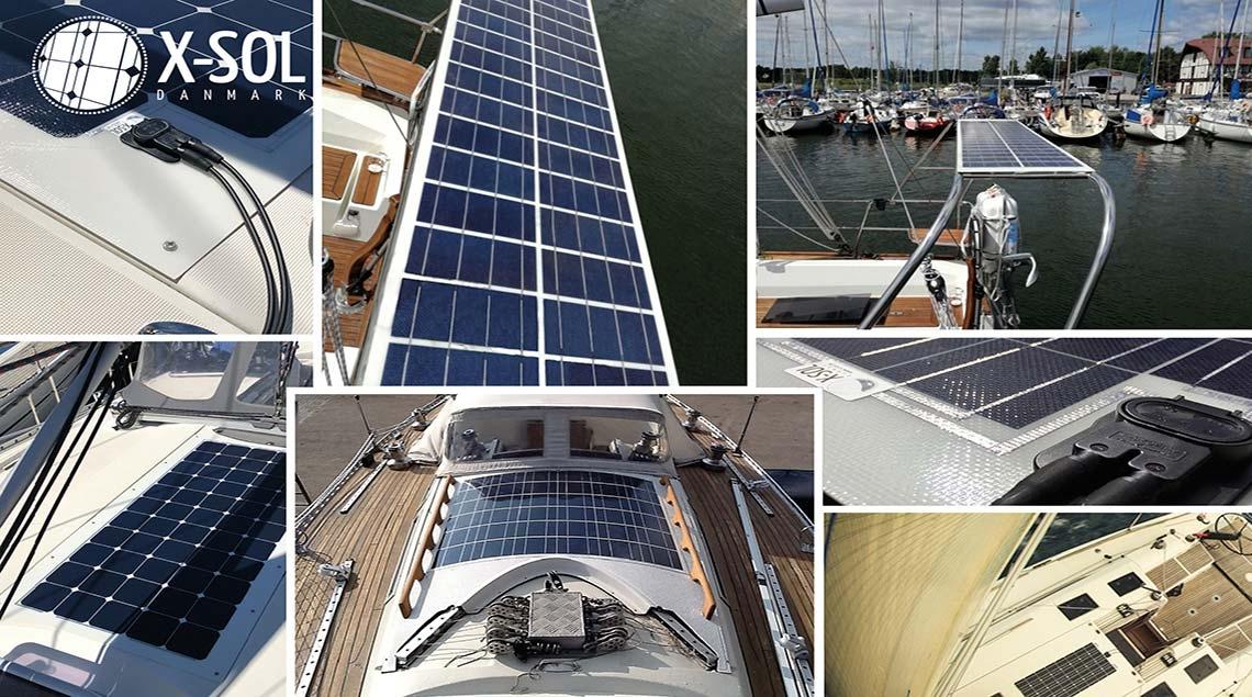 solpanel efter mål til din båd